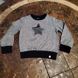 Sovereign Code 3T long sleeve grey star shirt